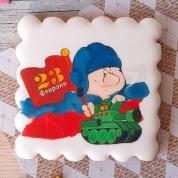 Пряники к празднику 23 февраля танкисту