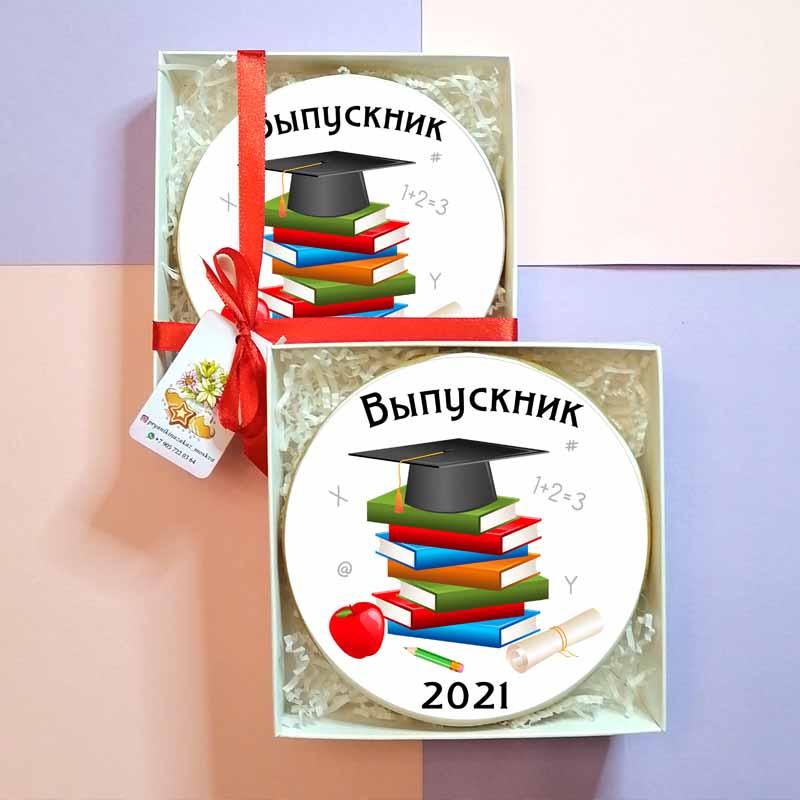 """Пряник """"Выпускник 2021"""""""